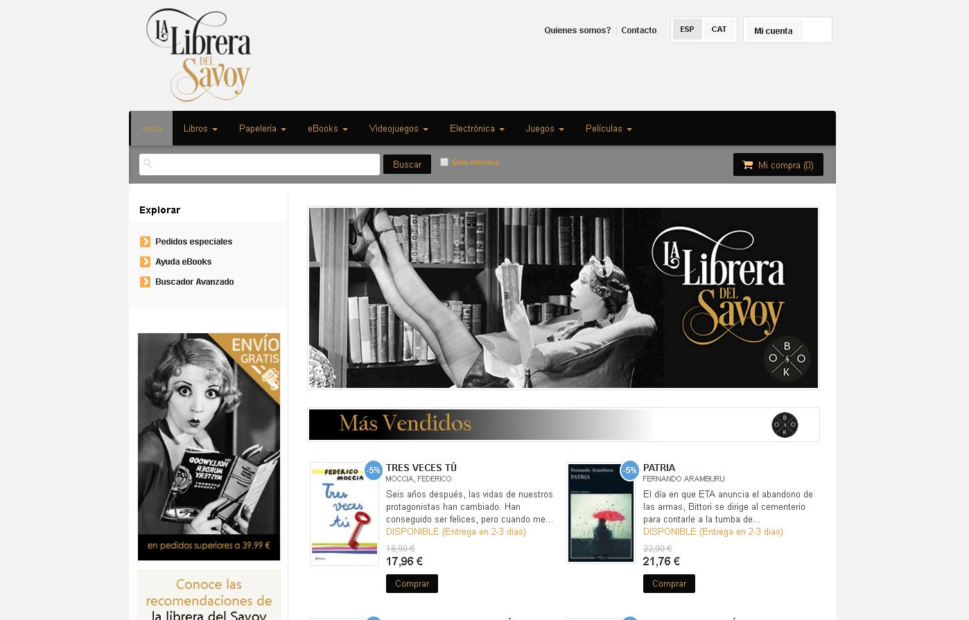 La Librera del Savoy